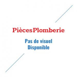Rallonge droite chromé 15/21 LG 10 cm